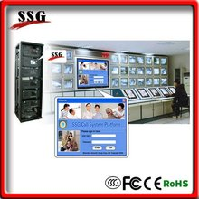 fire alarm system report center, CMS Server with Video Upload, TTS Voice Module,for Secuity Surveillance