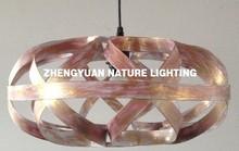 Industrial vintage metal cage pendant lamp for decoration