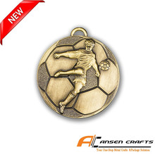 Cheap Custom Football Medals from China manufacturer