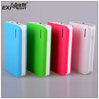 Emergency led torch/flash light 6600mah portable power source/bank/pack for ipad