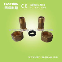water meter brass fittings , couplings and nuts, brass pipe fitting nut