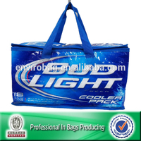 Lead-free Non Woven Insulated Cooler Beer Bottle Bag