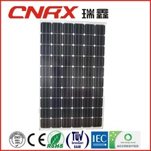 Cheapest photovoltaic solar panel China manufacturers 60 cells 156*156 Mono 250wp solar PV module with TUV CE IEC ISO 9001-2008