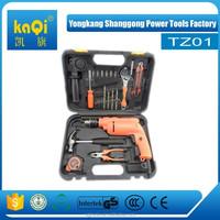 KaQi hand tool sets impact drill 20pcs mini tool set