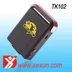mini real time gsm/gprs/gps tracker tk102 free software with 9-36V car charger free tracking software