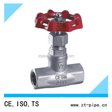 Wenzhou factory competitive price cast iron globe valve