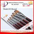 cepillo de herramientas para los pintores de la pintura del artista herramientas de pelo de nylon pintura acrílica 213