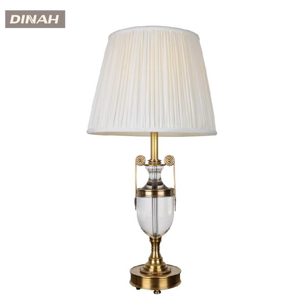 Laiton d coratif de luxe classique lampe de table en cuivre en laiton lampe d - Lampe de table classique ...