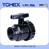 2015 manufacture all kinds of female threaded end pvc true union ball valve with cheap price