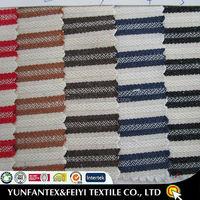 2015 latest design fashion soft Egyptian Cotton POPLIN beautiful USA SUPER newest YARN DYED crosswise stripe shirting FABRICS