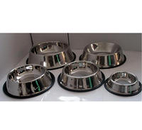 Cheap stainless steel pet dog bowl