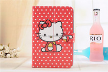 Cute Hello Kitty Carrying Soft Case Smart Cover For iPad Mini And Samsung Tab All in 7'' Inch Tablet PC