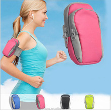 Universal Nylon Sport Armband Bag Case Running Phone Key Pouch Holder Case for Samsung Galaxy Note 5