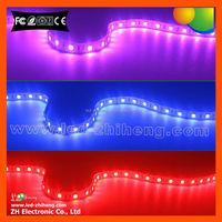 SMD 5050 flexible IP65 silicone glue waterproof 12v led light , RGB led strip light