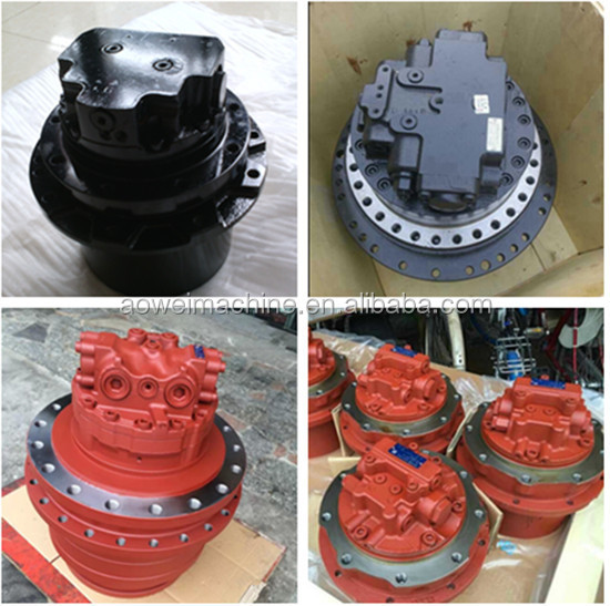 Excavator travel motor final drive assembly,Case,Airman,Gehl,Halla,Kobelco,Hitachi,Volvo,Hanix,D ...