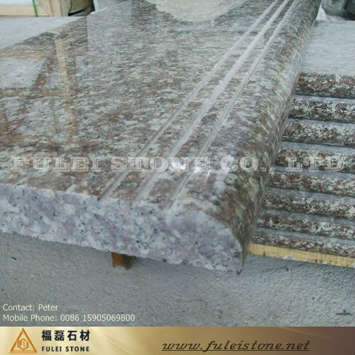 guten preis treppe g687 pfirsich rotem granit treppe. Black Bedroom Furniture Sets. Home Design Ideas