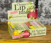 Lip balms Paper Display