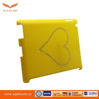 Yellow and purple color hard case for tablet OEM design welcome