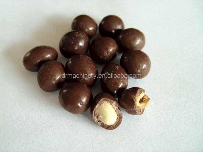 Chocolat machine de revêtement