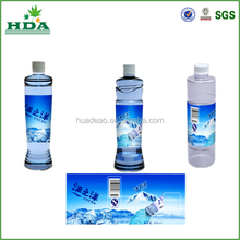 high quality customized plastic water bottle labels maker, shrink sleevel labels