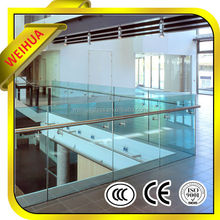 Supply 3-25mm high quality clear/ colored float/flective heat reinforced glass/tempered glass for desk, window, EB GLASS