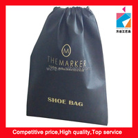 Non-woven Sports Travel Shoes Tote Drawstring Closure Storage Bag