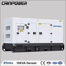 10kva perkins silent type diesel generator with synchronizing panel