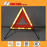 Emark red color flector warning triangle led warning triangle