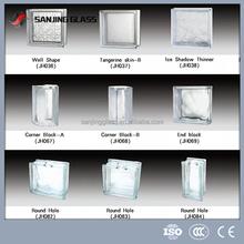 Brick glass block size