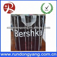 Customized design plastic book bags with handle