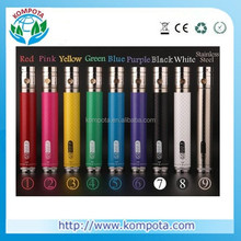 2014 Battery capacity new invention carbon fibre printing Variable voltage Ego II Twist 2200mah battery