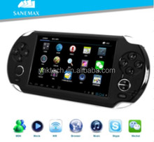 High quality 5 inch TFT LCD 800*480 video game console GP33003 Cortex A8 1.2GHZ Google Android4.0 Ice Cream Sandwitch