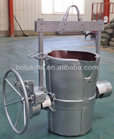 Molten Iron Pouring Ladle With Gear Box (ISO)