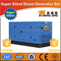 Diesel engine silent generator set genset CE ISO approved factory direct supply wind power electricity generator