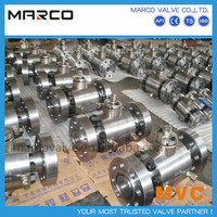 Professional supply casting and forging steel material anti chemical corrosion wear and acid resistant ball valve