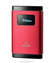 4G LTE Slim Wifi Router 100Mbps with SIM card supporting FDD/TDD