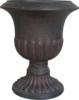 black nursery bulk flower pots plastic liners