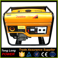 Chinese Manufacture 5kw Silent Gasoline Generator With Wheel Kit For Home Use