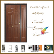 Anti-water armored door with 12mm PVC-Steel door panel