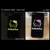 Cute hello kitty pattern PC hard for iphone 4 4s pc case,for i4 glow case