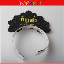 party paper hat ,paper headband set prism headdresses assorted