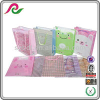 Cute multi-type and brightly colored decorative plastic bags