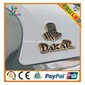 insignia de oro de cromo por encargo 3d cromo etiqueta el logotipo de