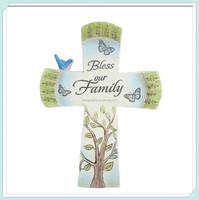 Hand craft wholesale resin decorative crosses