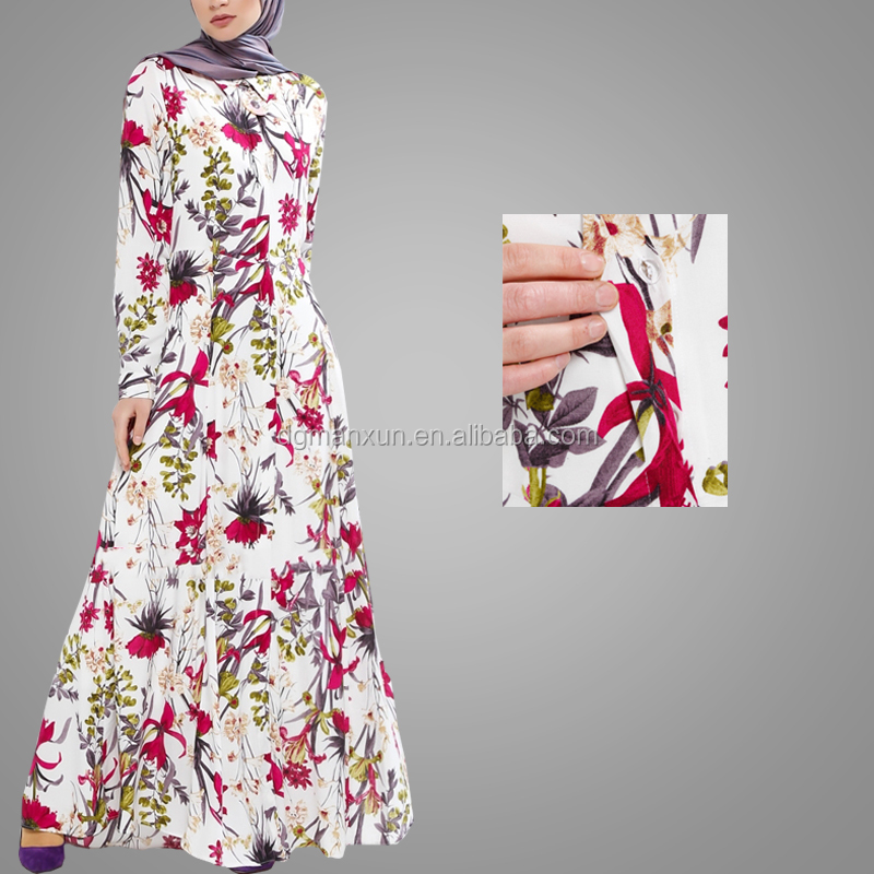 New Style Women Fashion Digital Printing Muslim Dress High Quality New Model Abaya In Dubai China Middle East Islamic Abaya (3).jpg