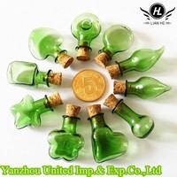 Various kind of mini glass bottle pendant