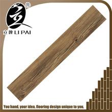 Hot sales luxury wood texture pvc tile vinyl floor 3mm