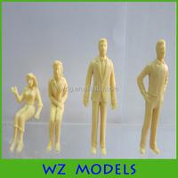 skin scale model figure scale in 1:50 /train model people figures /layout shin people figure