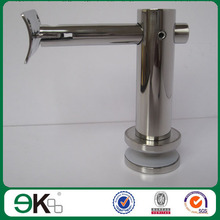stainless steel handrail bracket stainless glass pool round adjustable