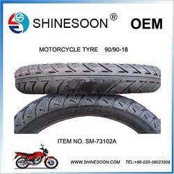 Shinesoon motorcycle tyre 90/80-17 cheap bike tyre SM-73102A